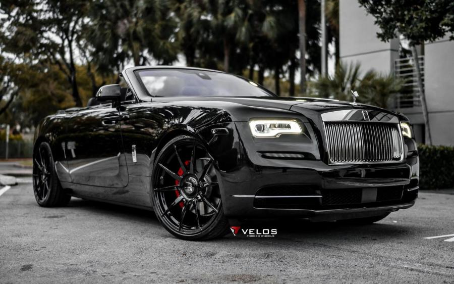 Rolls-Royce Dawn on Velos Wheels (S10) '2019