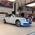 Rolls-Royce Ghost Provenance Private Jet Collection 2019 года