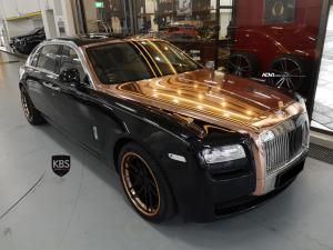 2019 Rolls-Royce Ghost by KBS Motorsports on ADV.1 Wheels (ADV005 TRACK SPEC CS)