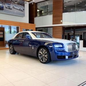 Rolls-Royce Ghost Inspired by Islamic Art 2019 года