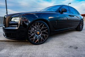 2019 Rolls-Royce Ghost on Forgiato Wheels (Blocco-ECL)