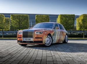 2019 Rolls-Royce Phantom Art Car by Marc Quinn