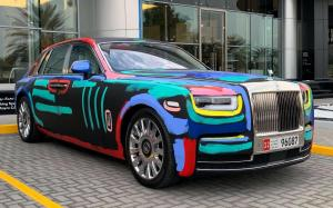 Rolls-Royce Phantom Art Cat by Bradley Theodore 2019 года