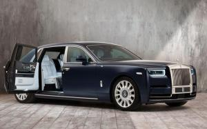 Rolls-Royce Phantom Bespoke the Million Stitch 2019 года