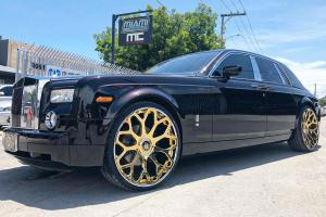 Rolls-Royce Phantom on Forgiato Wheels (Tessi-ECL) 2019 года