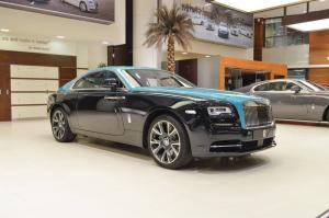 2019 Rolls-Royce Wraith Bespoke Pearl Diving Edition One of One