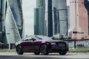 2019 Rolls-Royce Wraith Black and Bright