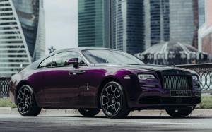 Rolls-Royce Wraith Black and Bright 2019 года (RU)