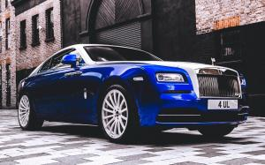 Rolls-Royce Wraith on Forgiato Wheels (F2.15-M) 2019 года