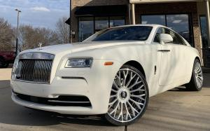 Rolls-Royce Wraith on Forgiato Wheels (RDB-ECL) 2019 года