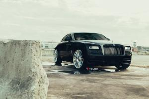 Rolls-Royce Wraith on Velos Wheels (CRS15) 2019 года