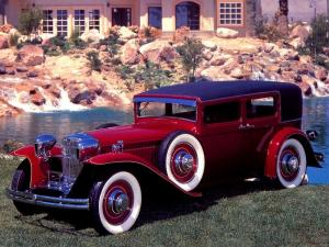 1930 Ruxton Model C Brougham Sedan