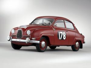 Saab 96 Rally Car 1960 года
