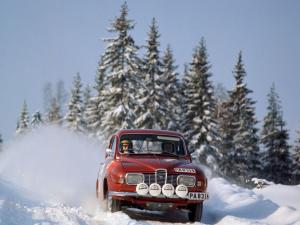 Saab 96 Rally Car 1969 года