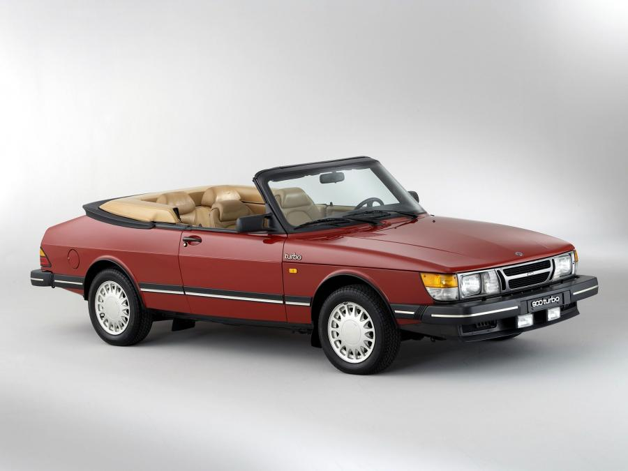 Saab 900 Turbo Convertible '1986