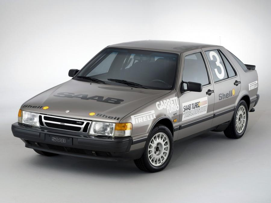 Saab 9000 Turbo Talladega Long Run '1987