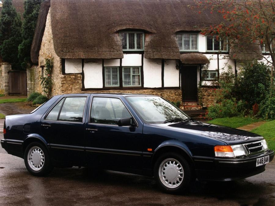 Saab 9000 CD (UK) '1988