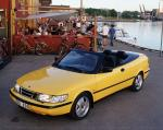 Saab 900 SE Turbo Convertible 1993 года