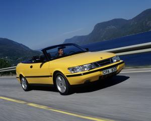 1993 Saab 900 SE Turbo Convertible