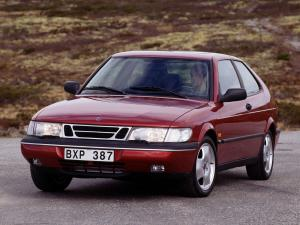 Saab 900 SE Turbo Coupe 1993 года