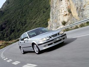 Saab 9-5 Sport Package Sedan 1999 года