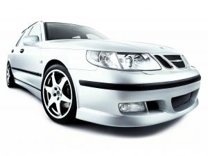2002 Saab 9-5 Aero Wagon by Hirsch