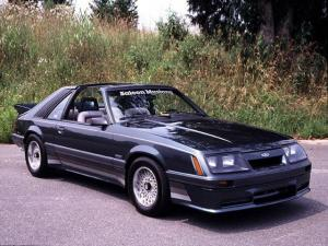 1985 Saleen Ford Mustang T-Roof