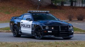 2007 Saleen S281 Transformers Barricade Police Press Car