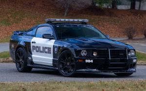 Saleen S281 Transformers Barricade Police Press Car '2007