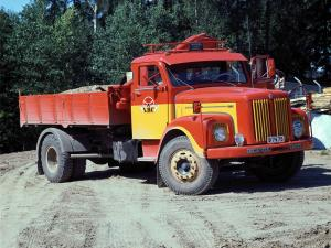 1962 Scania-Vabis L56 Tipper
