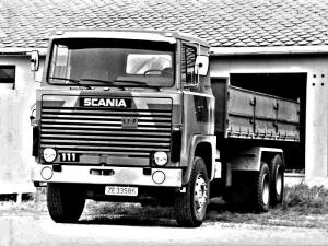 1968 Scania LBS111 Tipper