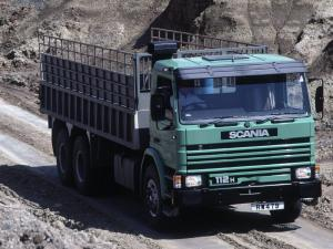 1981 Scania P112H 6x4 Tipper