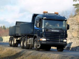 1995 Scania R124C 420 6x4 Tipper