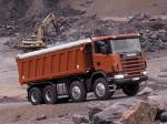 Scania R124CB 470 8x4 Tipper 1995 года