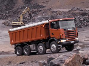 1995 Scania R124CB 470 8x4 Tipper