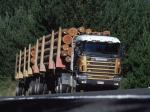 Scania R144G 530 6x4 Timber Truck 1995 года