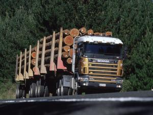 1995 Scania R144G 530 6x4 Timber Truck
