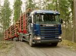 Scania R164GB 580 6x4 Timber Truck 1995 года