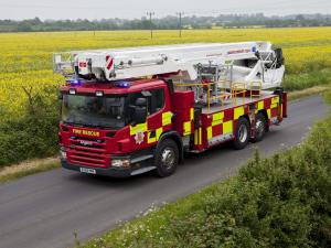 2004 Scania P310 6x2 Firetruck by Bronto Skylift