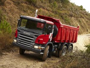 2004 Scania P380 6x4 Tipper