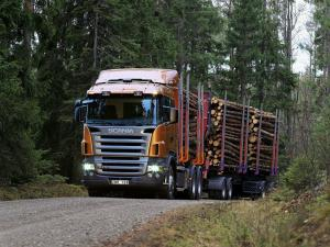 Scania R470 6x4 Timber Truck 2004 года