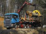 Scania R470 6x6 Timber Truck 2004 года