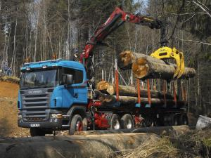 2004 Scania R470 6x6 Timber Truck