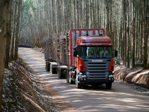 Scania R500 6x2 Highline Timber Truck 2004 года