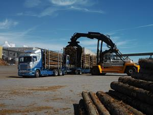2004 Scania R500 6x4 Timber Truck
