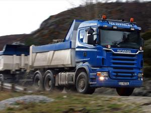 2004 Scania R580 6x4 Tipper