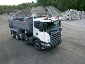 Scania G420 8x4 Tipper 2005 года