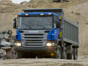 2005 Scania P360 8x4 Tipper