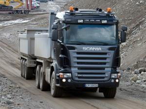 2005 Scania R620 6x4 Tipper