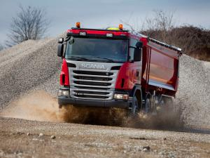 2010 Scania G480 8x4 Tipper